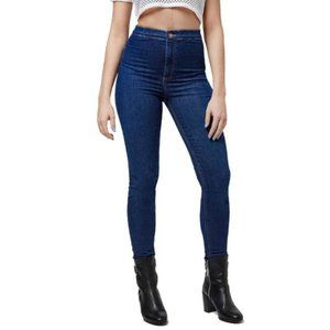 TOPSHOP Joni Super High Waisted Skinny Jeans W25